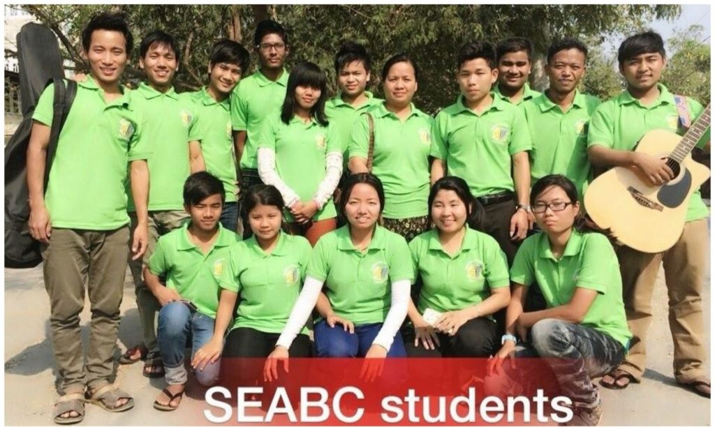 Southeast Asia Bible College Students